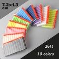 100pcs Soft Head 7.2cm Refill Darts for soft gun Kid Toy Gun EVA Bullets water orbeez gun crystal shooting toys