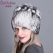 Sombrero de Invierno para mujer, sombrero de 100% para mujer, sombrero de piel de zorro Rex Real, sombrero de piel de conejo, gorros de piel de conejo Rex, gorros cálidos para mujer