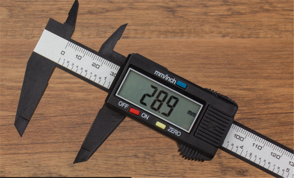 2017 Explosion Models  Free Shipping 150mm 6inch LCD Digital Electronic Carbon Fiber Vernier Caliper Gauge Micrometer