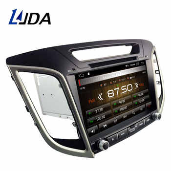 LJDA Android 10 Car dvd player for HYUNDAI IX25 CRETA Car Radio headunit gps navigation stereo multimedia WIFI autoaudio 2G+16G
