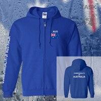 Australia AUS Australian Mens Hoodies And Sweatshirt Jerseys Polo Sweat Suit Streetwear Tracksuit Nations Fleece Sports