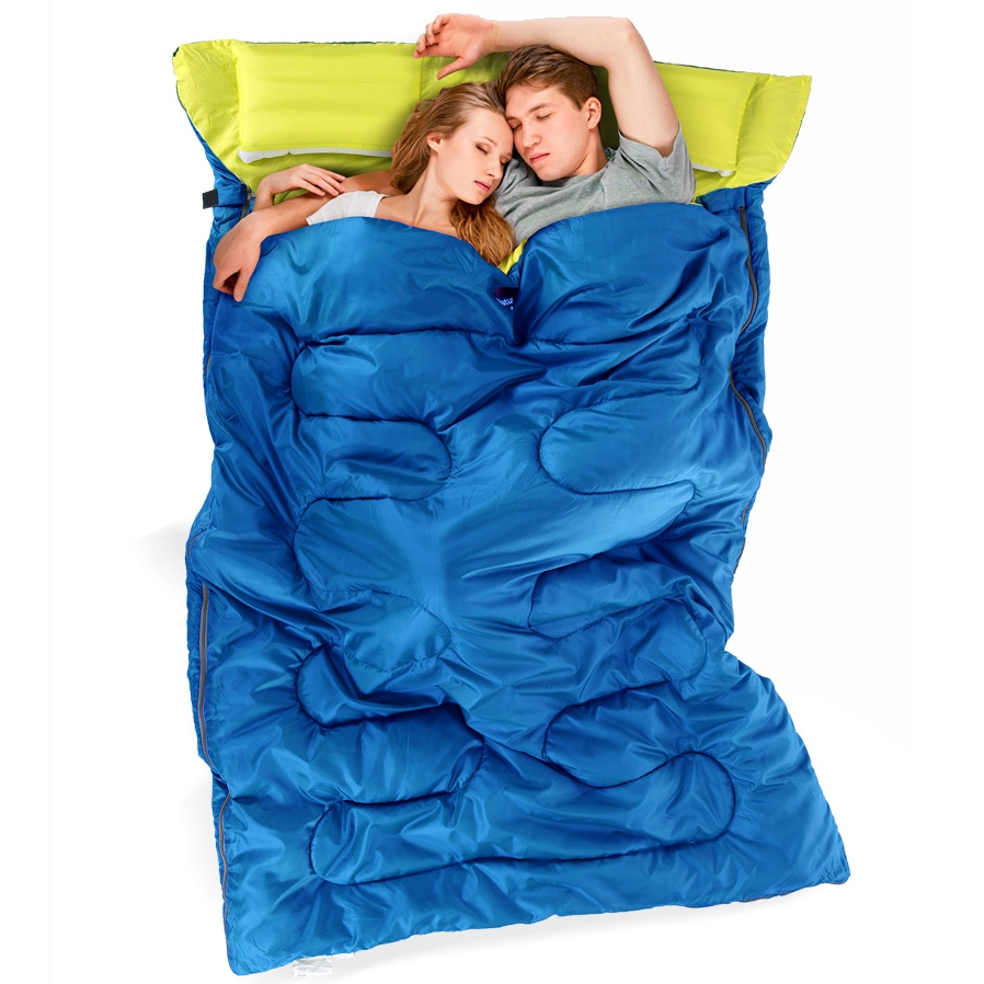 NH Naturehike Double Sleeping Bag With Pillows Perfect For Wild Dreams Of Lovers Weight About 3.5Kgs But Measurent Weight 4.5Kgs