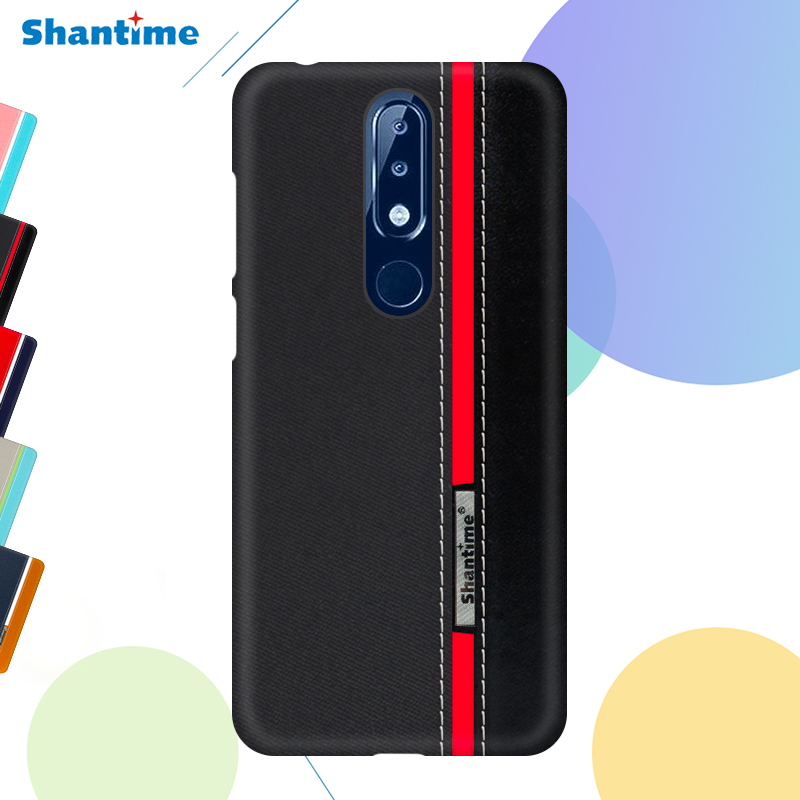 Pu Leather Case For Nokia 6.1 Colorful Case For Nokia 6 2018 Business Case For Nokia 6.1 Plus Cover For Nokia X6 Phone Case