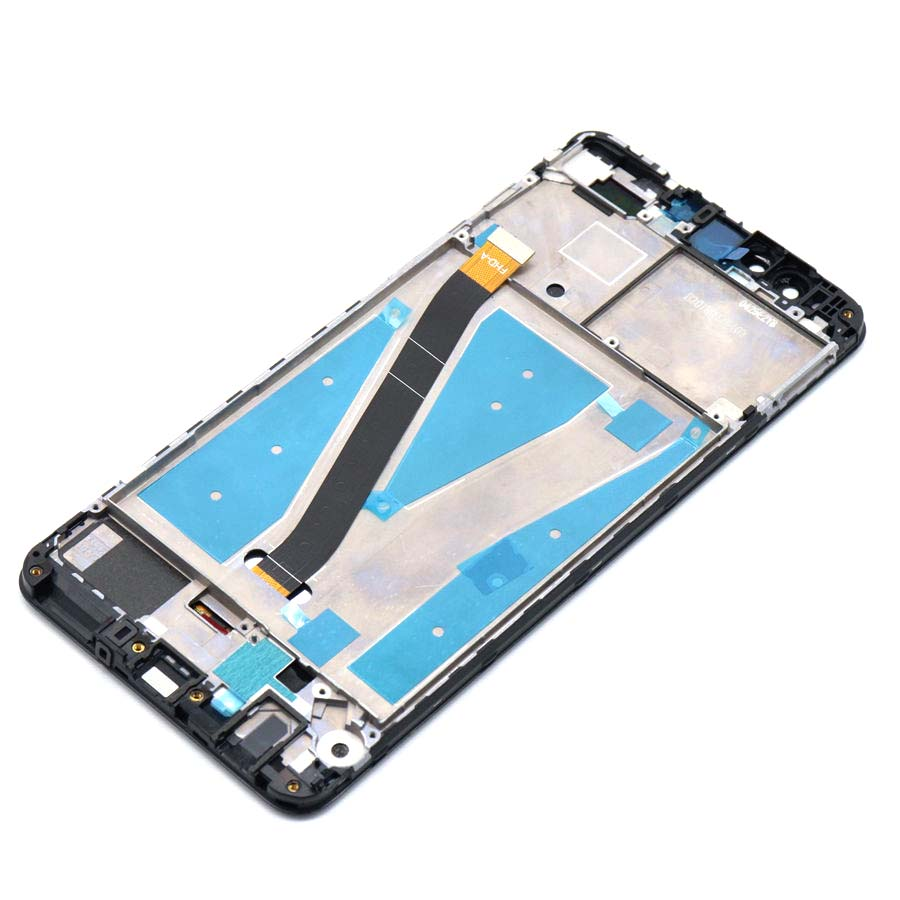 Image 2 - For Huawei Y9 2018 LCD Display Touch Screen Digitizer Assembly FLA L22 LX2 LX1 LX3 For Huawei Y9 2018 LCD With Frame Replacement-in Mobile Phone LCD Screens from Cellphones & Telecommunications on