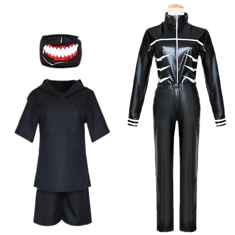 Tokyo Ghoul cosplay kaneki ken,men/'s boy/'s costume uniform Tops Short