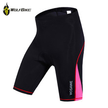 цена на WOSAWE NEW Outdoor Sportswear Women Riding Shorts Bike Clothes Bicycle Cycling Clothing 3D Padded Short Pants Breathable