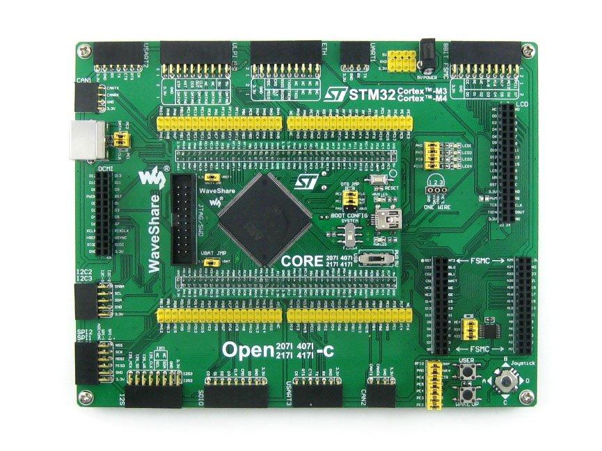 module STM32 ARM Cortex-M4 STM32 Development Board STM32F407IGT6 STM32F407+ PL2303 USB UART Module+ Free Shipping= Open407I-C St