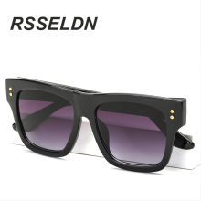 RSSELDN High-grade euramerican popula Fashion Men's Mirror Sun Glasses Goggle Eyewear Female Male Accessories Sun glasses Women