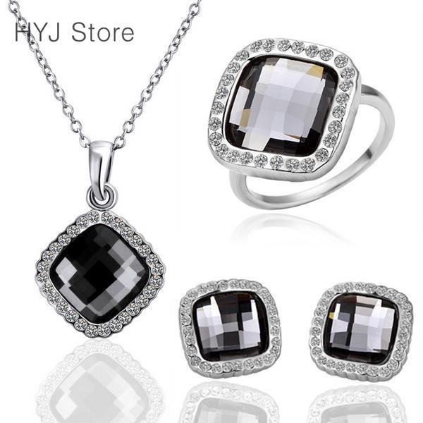 S178 Fashion free mixed styles 18k gold plating jewelry set