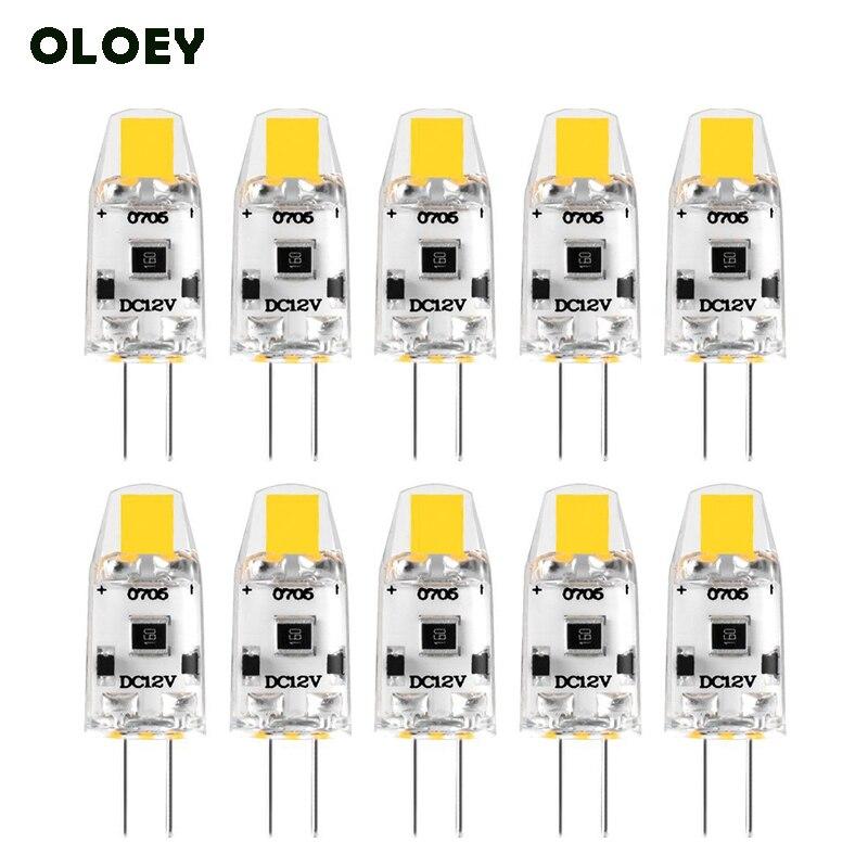 10 قطعة G4 LED لمبة 12 V DC إضاءة جدارية ليد قابلة للخفت G4 مصباح Lampadas مصابيح كهربائية 360 شعاع زاوية لا وميض استبدال 10 W 15 W مصباح هالوجين