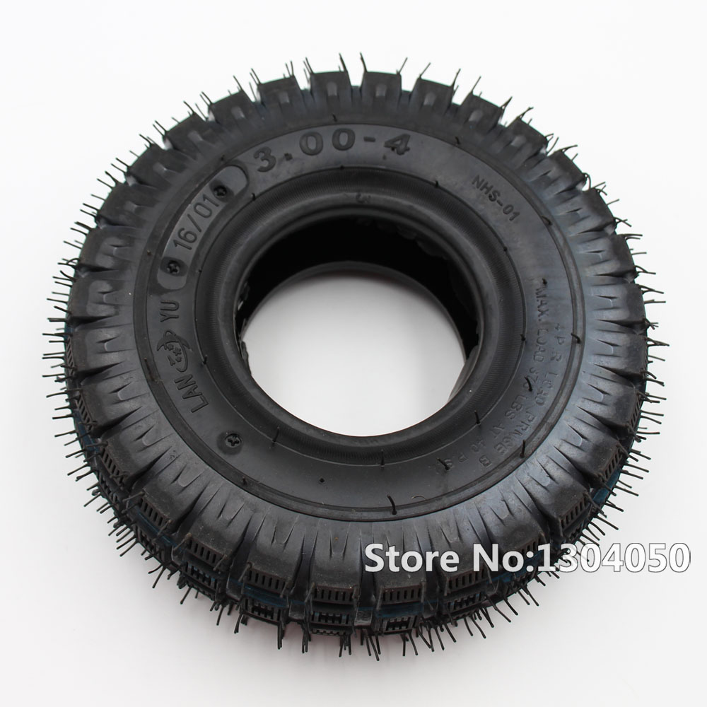 3.00-4 (10''x3'',260x85) Scooter Tire For Electric Kid Gas Scooter WheelChair New