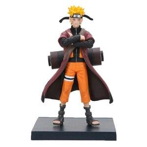 Image 5 - Naruto Shippuden Uzumaki Naruto Gals Hyuuga Hinata Jiraiya Haruno Figurine Naruto PVC Figures Toy Collection Model Dolls