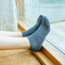 New Socks Ladies Spring Autumn Striped Combed Cotton Casual Embroidered Flowers Women Harajuku Meias