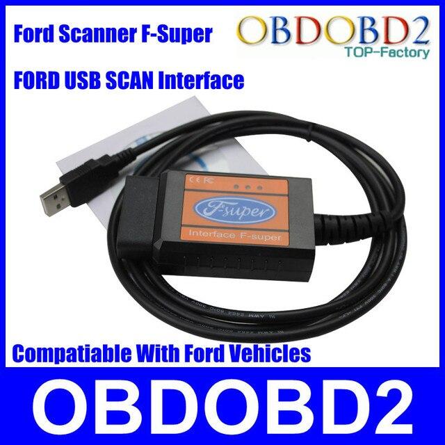 Профессиональный Для Ford F-Super Для Форд Бензин + Дизель Автомобиля (Для Ford Focus/Fusion/Mondeo/Fiesta/КА/Транзит) Интерфейс USB