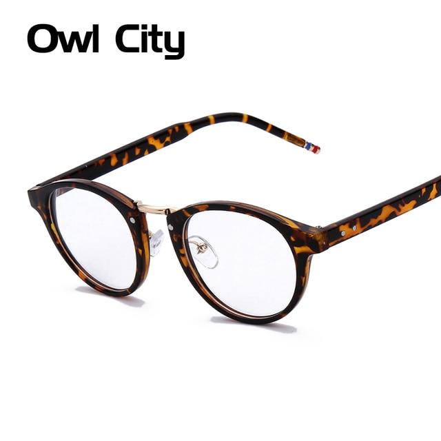 ea38f1596a2f Vintage myopia Glasses Women Brand Designer Glasses Frame Classic computer Eyeglasses  Frames Men de grau feminino