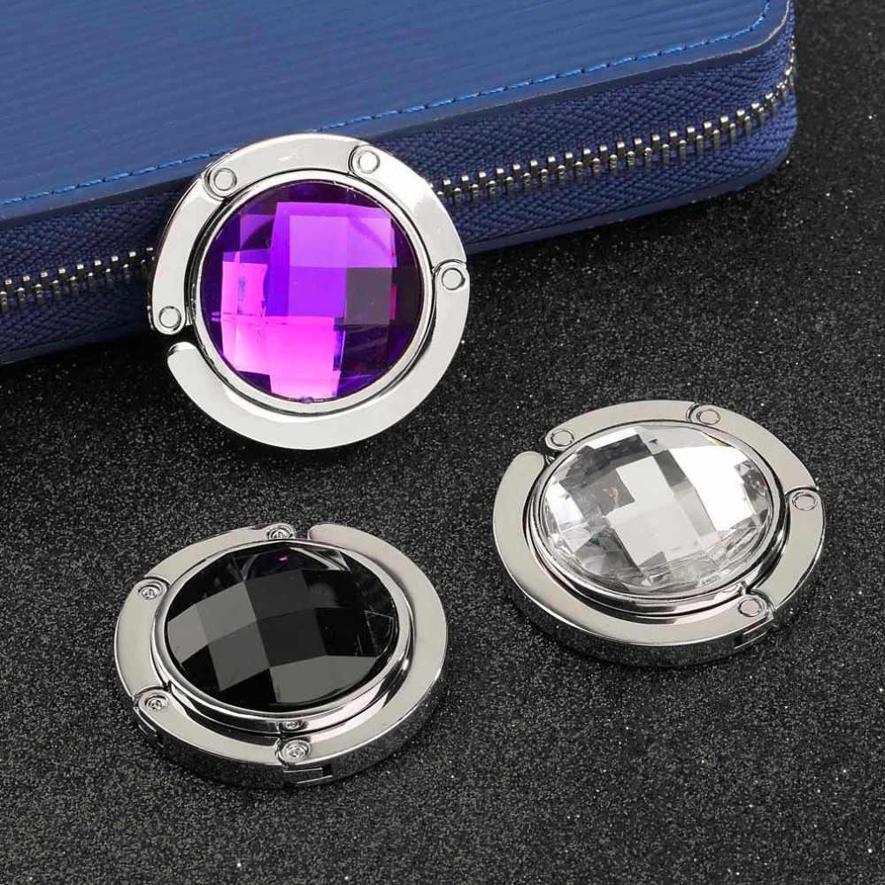 Bolso de mano con gancho para llaves soporte para accesorios de cocina de baño de ganchillo