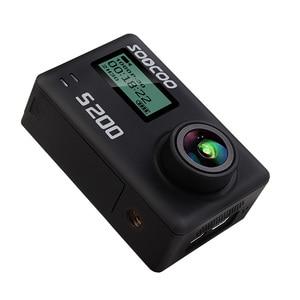 Image 5 - Soocoo S200 macchina fotografica di azione 4 k di sport con il caso GPS microfono a distanza di controllo dello schermo di tocco action cam macchina fotografica di azione di montaggio