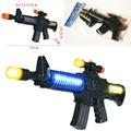 Novo Brinquedo Para Crianças Máquina de Armas de Assalto Militar Com Luzes Piscando Arma de Som Presente para As Crianças Frete Grátis