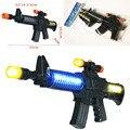 Nuevo Juguete Para Niños Asalto Militar Ametralladoras Con Luces Intermitentes de Sonido Pistola de Regalo para Los Niños Envío Gratis