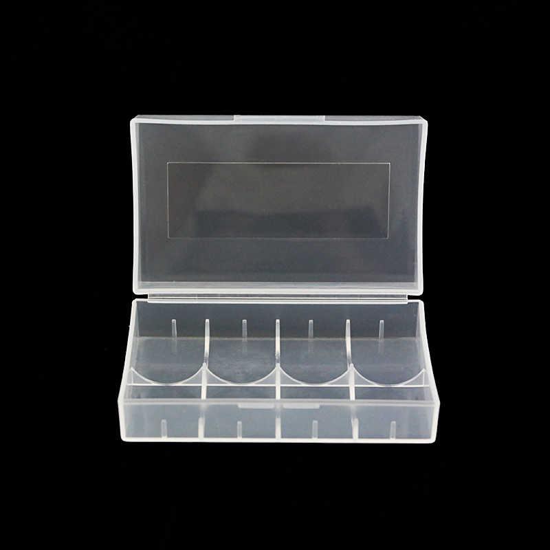 20700 caixa de dupla caixa de plástico caixa de caixa de bateria portátil para 21700 bateria Titular Caso Caixa De Armazenamento para AA AAA 21700 (5 pçs/lote)
