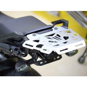 Багажная стойка для мотоцикла с ЧПУ, алюминиевая задняя переноска для YAMAHA FJ-09 / MT-09 Tracer 2015-2017