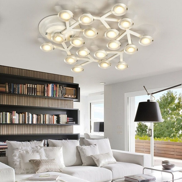 Nordic minimalist living room art ceiling ceiling creative personality home lighting and commercial LED ceiling light