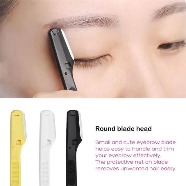 Online Shop 6pcs Professional Eyebrow Razor Shaver Facial Hair