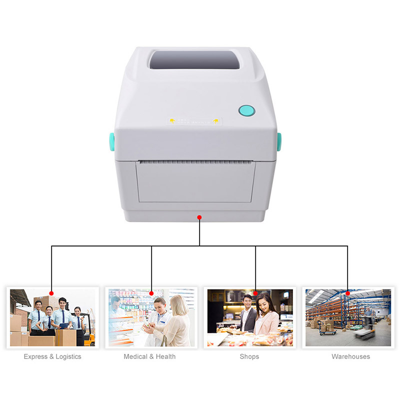 Sticker label printer