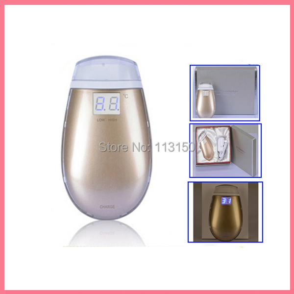 Free shipping Portable Fractional RF Thermage Machine with LCD Display and 21 Dot Matrix Lattice 2014 new free shipping dual display hk 809 with waistbelts machine for pedicure