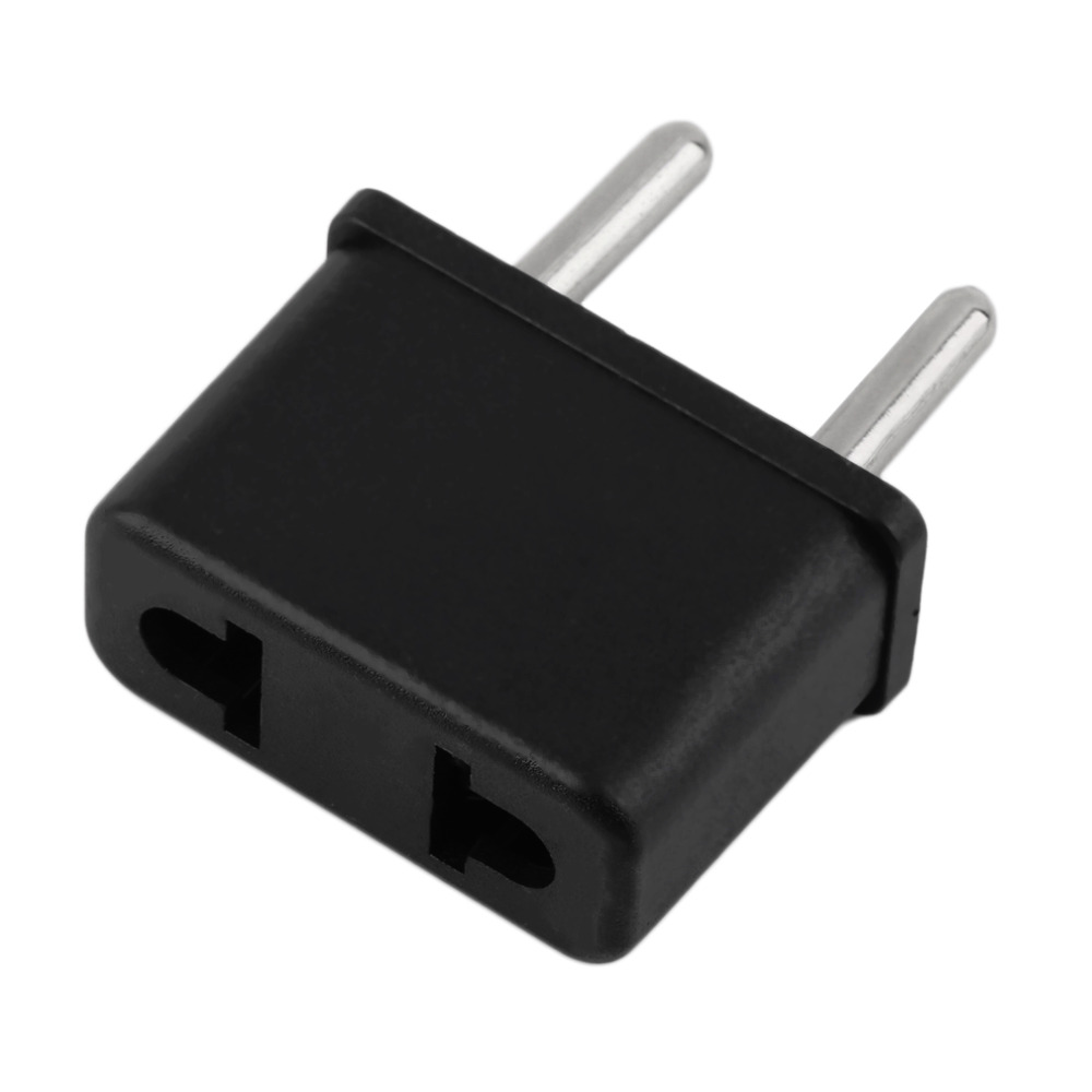 New US To EU Europe 220V Standard AC Power Plug Adapter Outlet Travel Converter Wholesale