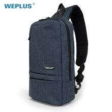 WEPLUS мужские сумки через плечо Универсальный Анти вор путешествия маленькая сумка Грудь сумка для подростка Бесплатная доставка