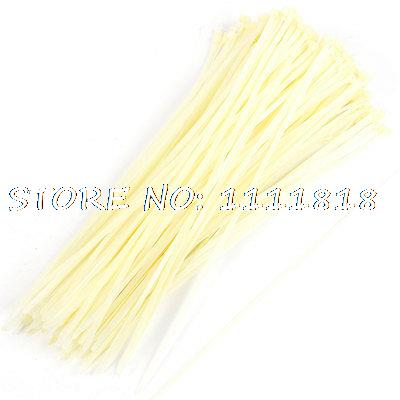 250 Pcs Self Locking Cable Nylon Zip Ties Fastener Off White 8mm x 400mm yds 200m 4 x 200mm self locking nylon cable tie wraps white 500 pcs page 7