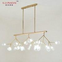 Post Modern Gold Or Black Finished Firefly Pendant Light Dinning Room Bar Pendant Lamp Art Decoration