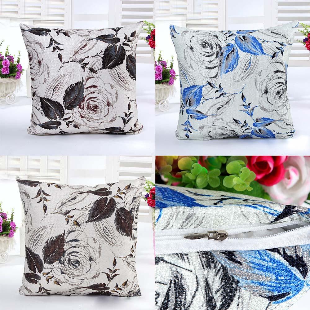 buy kissenbezug linen cushions sets of pillow cover cases pillow cover sofa