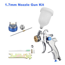 WAERTA G2008 Spray Gun Hand Manual Nozzle 1.7mm Paint Kit Set