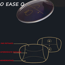 1.61 Freeform Multi Focal Progressive Lens Men Women With Lens Cut And Frame Fitting Service Correct Visual Acuity