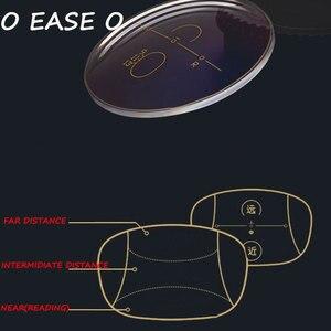 Image 1 - 1.61 Freeform Multi Focal Progressive Lens mężczyźni kobiety z soczewką cięcie i montaż ramy prawidłowe ostrość wzroku