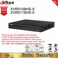 Dahua DVR XVR5108HS X XVR5116HS X 8ch 16ch Up to 6MP H.265S mart Search Digital Video Recorder work with dahua hdcvi camera AHD