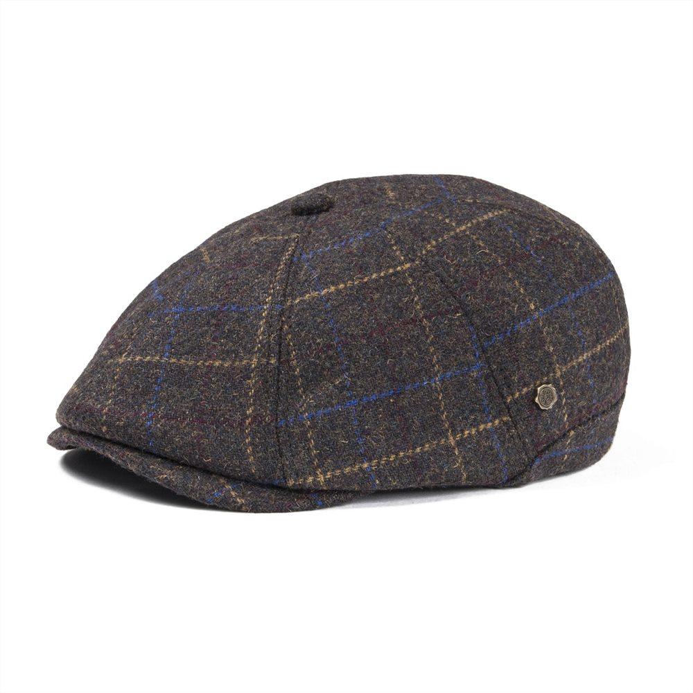 e109be4b VOBOOM Warm Newsboy Caps Men Woolen Tweed Beret Gatsby Twill Driving Flat  Cabbie Hat Casual Beret