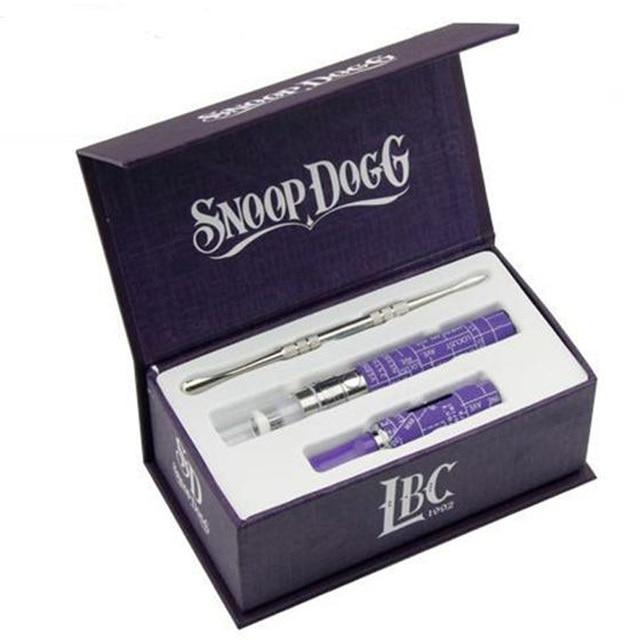 Snoop Dogg starter Kits Воск Сухой Травы Испаритель Snoop Dogg электронной сигареты vaporizador snoop dogg испаритель жидкостью vape сигареты комплект
