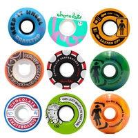 New Arrival Pro USA Skateboard Wheels 52/53/54/55/56mm Skate Board PU Ruedas Patines Aggressive Rodas Skate Wheel 4PCS