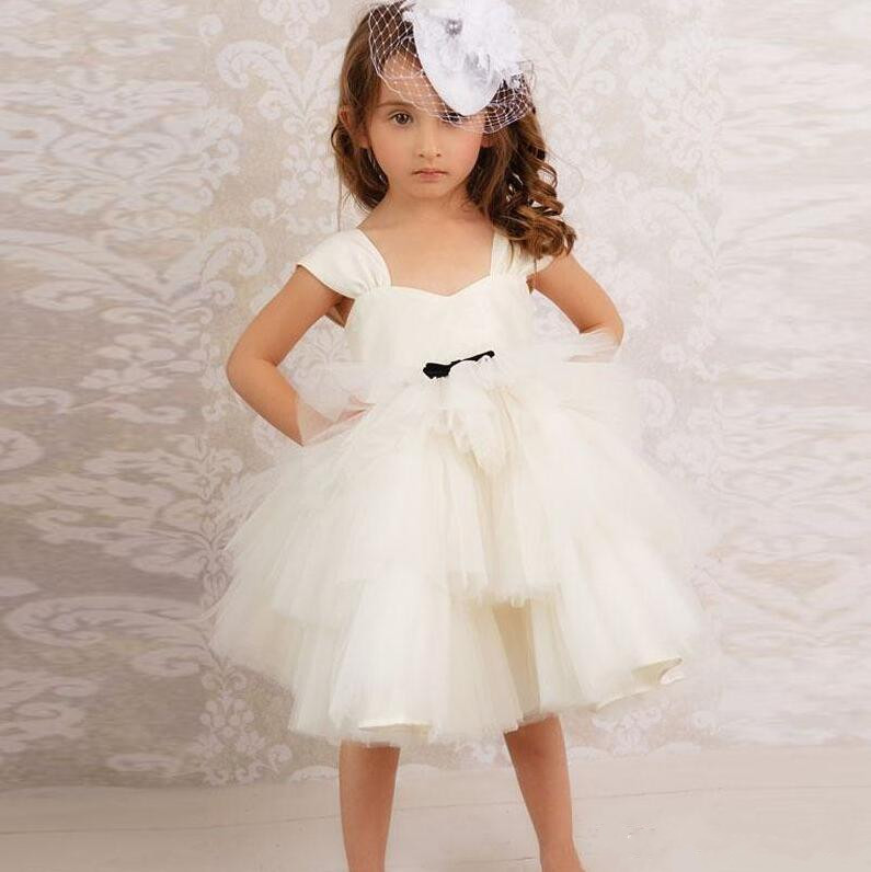 New Ivory White Baby Girls Birthday Dress Christmas Gown Custom Made Girls Dresses for Wedding Size 2 3 4 5 6 10 12 Years мозаика piranesi city ivory athina 100% 2 5x2 5 31 6x31 6