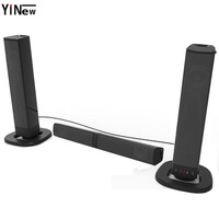 Wireless Bluetooth TV Sound Bar Box PC 20W portable Speaker Column USB AUX MP3 Music Player Boom Box 3D stereo soundBar system