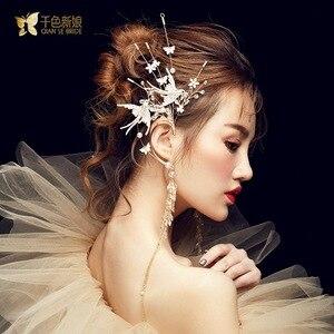 Image 3 - クリスタル鳥耳かけデュアル使用側の装飾スーパー妖精パーティー髪の宝石女性のための