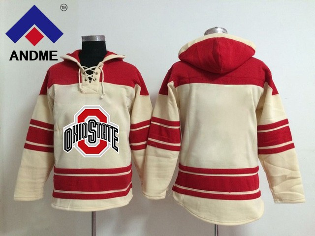 Ice hockey sweater Ohio State Buckeyes University Jersey Custom Any Name  Any Number Stitched Hoodie Sports 7a9e54797