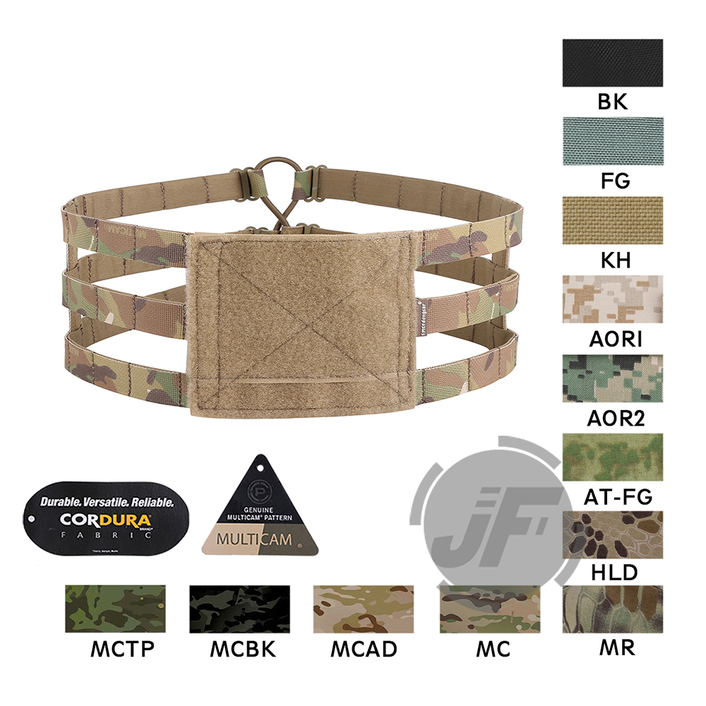Emerson 3-Band Skeletal Cummerbund EmersonGear MOLLE Mounting Platform Strap Lightweight For JPC AVS CPC Plate Carrier Vest