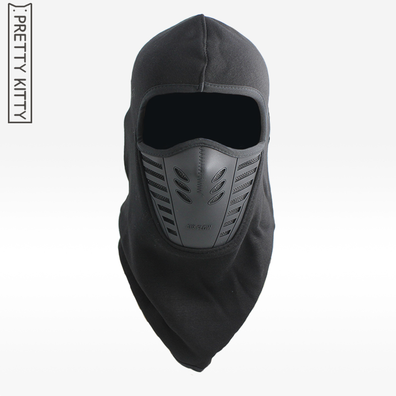 plus velvet Skiing Wind River balaclava face mas Mes