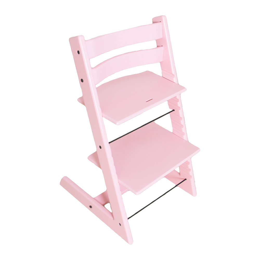 Adjustable Wooden High Chair, Modern Baby Dinning High Chair, Perfect Feeding Highchairs Solution For Babies And Toddlers