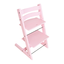 Adjustable Wooden High Chair, Modern Baby Dinning Perfect Feeding Highchairs Solution for Babies and Toddlers