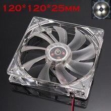 Tranquilo 12cm/120mm/120x120x25mm 12V/ordenador/PC/silencio CPU carcasa del ventilador de enfriamiento 6M3 envío de la gota